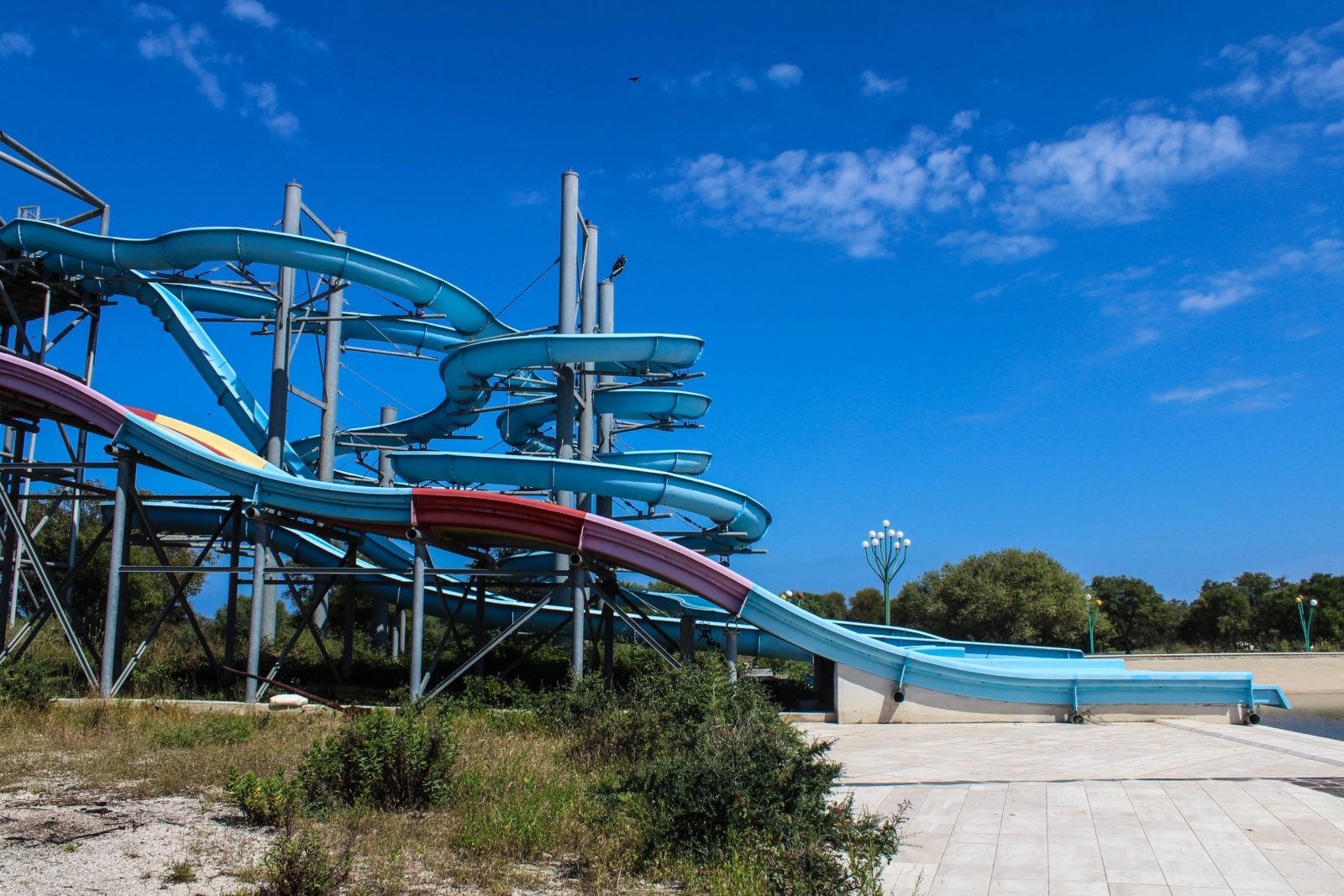 Parco Acquatico Abbandonato Ad Orosei Sardinia Urbex