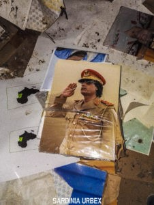 POSTER DI GHEDDAFI ALL